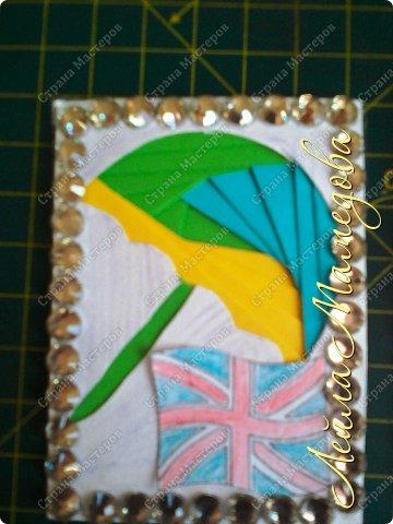 Привет,девочки!!! Мне уже сняли гипс, я быстренько сделала серия карточек. Почему зонты? Потому-что Англия туманная и сырая страна. поэтому что бы вы не промокли,я дарю вам зонтики!!!! фото 7