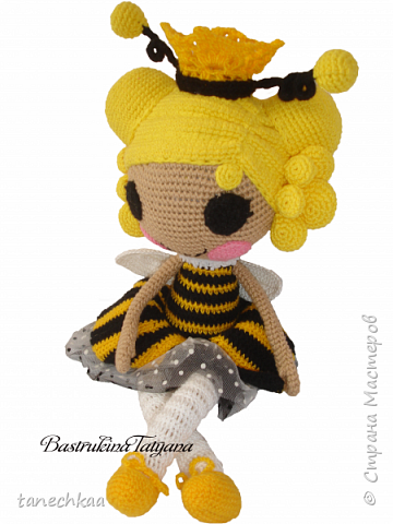 Оригинальная кукла Лалалупси персонаж: Пчёлка. фото 4
