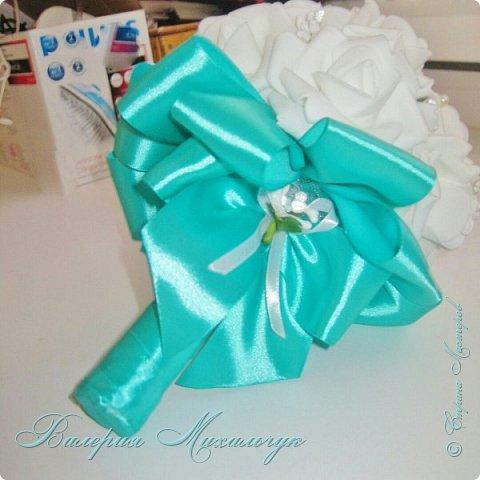 Свадебный букет - дублёр для невесты фото 2