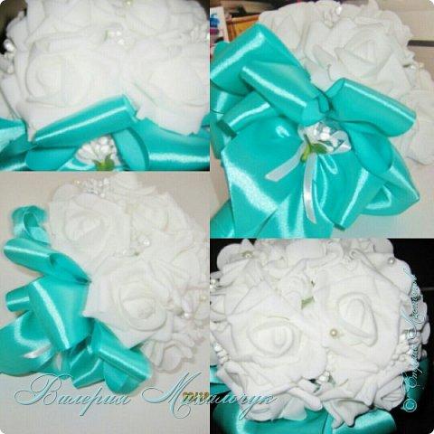 Свадебный букет - дублёр для невесты фото 3