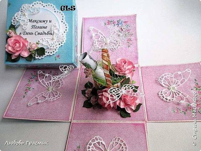 Свадебная коробочка фото 1