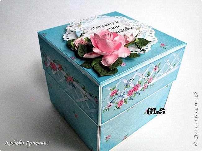 Свадебная коробочка фото 3
