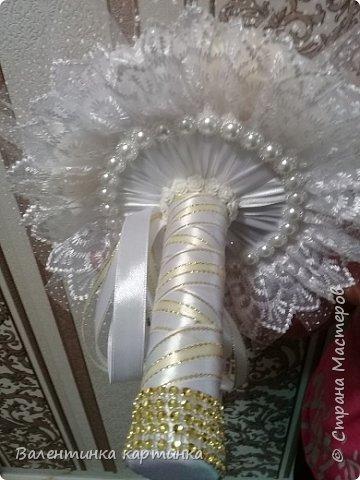 Дети попросили помочь подготовиться к свадьбе. Вот что получилось стиль - айвори.   Бутоньерка Жениха фото 5