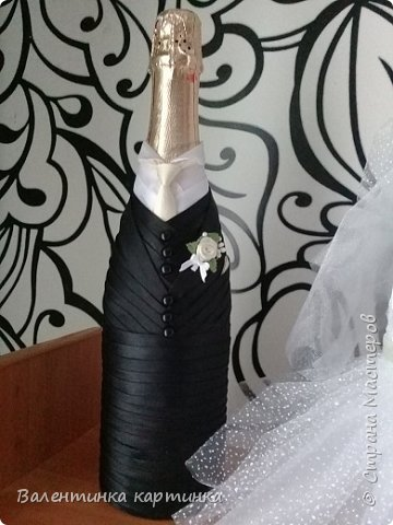 Дети попросили помочь подготовиться к свадьбе. Вот что получилось стиль - айвори.   Бутоньерка Жениха фото 10