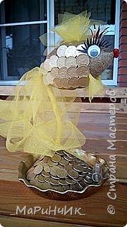 Денежная золотая рыбка.  фото 1