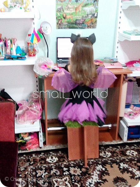 мои работы , костюмы для разных праздников дочка захотела быть золушкой и вот наш костюм № 1 костюм для золушки  фото 3