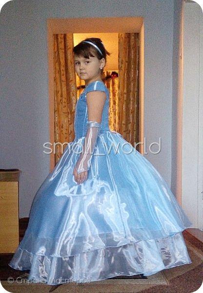 мои работы , костюмы для разных праздников дочка захотела быть золушкой и вот наш костюм № 1 костюм для золушки  фото 1