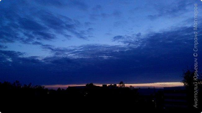 Всем добрый день! Вашему вниманию небольшой фоторепортаж о Подмосковных вечерах. Все фото выполнены из одной точки наблюдения (своего балкона). - Фото сделаны на обычном смартфоне) фото 2