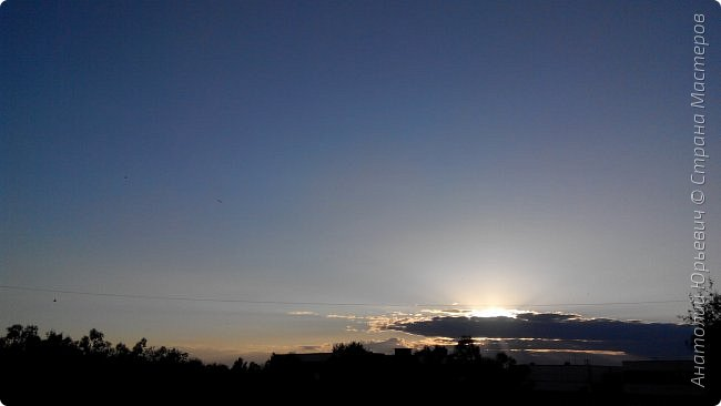 Всем добрый день! Вашему вниманию небольшой фоторепортаж о Подмосковных вечерах. Все фото выполнены из одной точки наблюдения (своего балкона). - Фото сделаны на обычном смартфоне) фото 9
