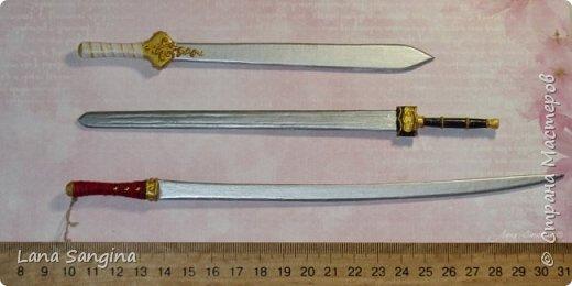 МК: меч для куклы фото 1