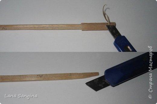 МК: меч для куклы фото 5