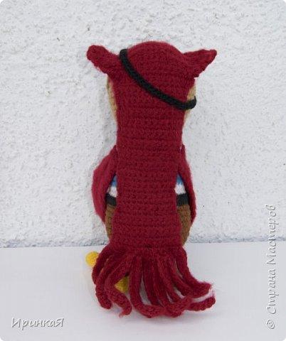 Связался у меня такой пират) Рост 22 см, схема вязания моя, идея образа Тамары Новак фото 3