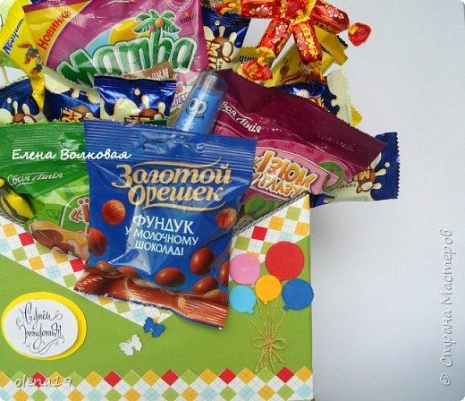 Сегодня одна работа коробка-конверт в подарок мальчику на 6 лет, Спасибо за мк коробки АлёнеTsvoric https://www.youtube.com/watch?v=5edIegm14kA.  фото 2