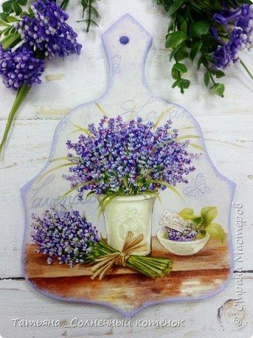 """Декоративная тарелочка """"Лаванда"""" фото 4"""