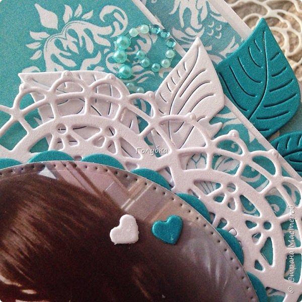 """Свадьбы продолжаются:) Результат этой недели. Открытка с кармашком на свадьбу цвета страсти:) , из бумаги Galeria Papiery """"НЕЖНЫЕ СЛОВА""""  фото 6"""