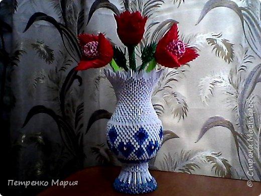 ваза с цветами 15.11.2017г