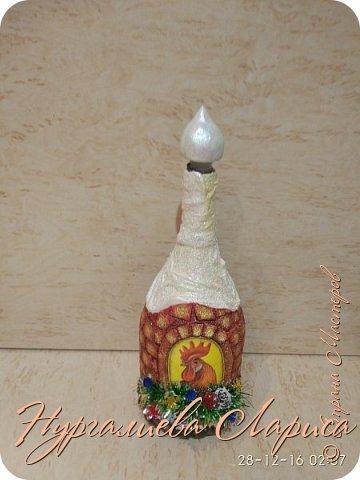 Бутылочка с символом года фото 1