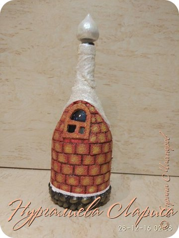 Бутылочка с символом года фото 3
