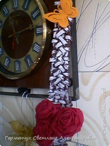 """В   Стране Мастеров  увидела  талантливые работы мастеров плетения из газетных трубочек   и решила испробовать  с самого   """"простого """" ,как мне показалось - с ложки. Что получилось я лучше промолчу!!! Прошу не судите строго!!! фото 27"""