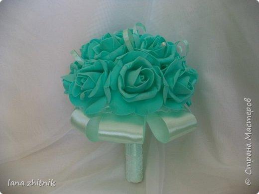 свадебный букет-дублер фото 2