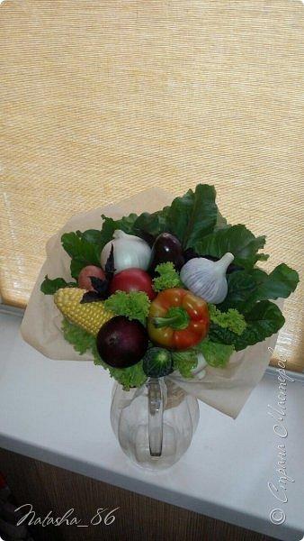 Букет из овощей фото 2