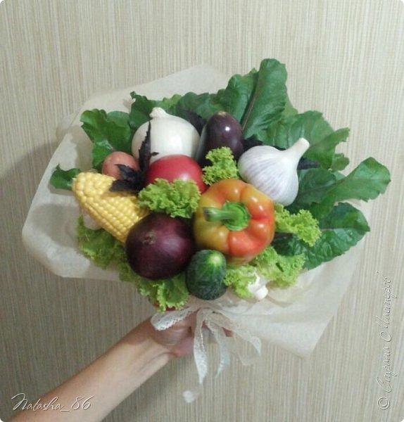 Букет из овощей фото 1