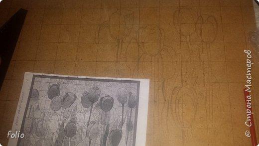 Всем привет! Понравилось мне работать с мозаикой из  линолеума. Наинуднейшая но очень увлекательная работа!! ))) МК уже был. Если заинтересует, заходите по адресу http://stranamasterov.ru/node/1103243 Но кое чем поделюсь и в этот раз фото 3