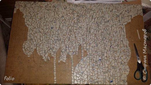 Всем привет! Понравилось мне работать с мозаикой из  линолеума. Наинуднейшая но очень увлекательная работа!! ))) МК уже был. Если заинтересует, заходите по адресу http://stranamasterov.ru/node/1103243 Но кое чем поделюсь и в этот раз фото 6