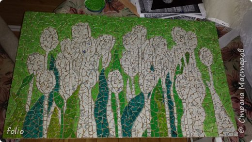 Всем привет! Понравилось мне работать с мозаикой из  линолеума. Наинуднейшая но очень увлекательная работа!! ))) МК уже был. Если заинтересует, заходите по адресу http://stranamasterov.ru/node/1103243 Но кое чем поделюсь и в этот раз фото 9