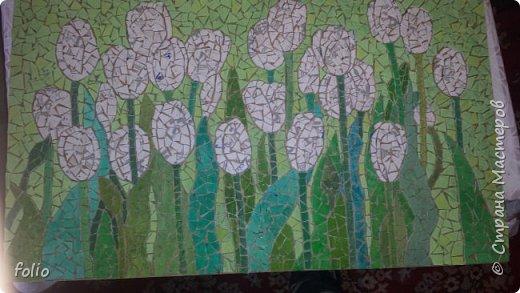 Всем привет! Понравилось мне работать с мозаикой из  линолеума. Наинуднейшая но очень увлекательная работа!! ))) МК уже был. Если заинтересует, заходите по адресу http://stranamasterov.ru/node/1103243 Но кое чем поделюсь и в этот раз фото 10