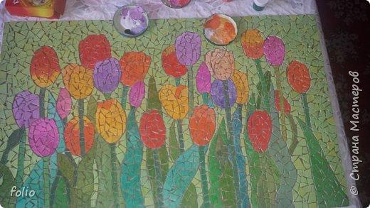 Всем привет! Понравилось мне работать с мозаикой из  линолеума. Наинуднейшая но очень увлекательная работа!! ))) МК уже был. Если заинтересует, заходите по адресу http://stranamasterov.ru/node/1103243 Но кое чем поделюсь и в этот раз фото 11