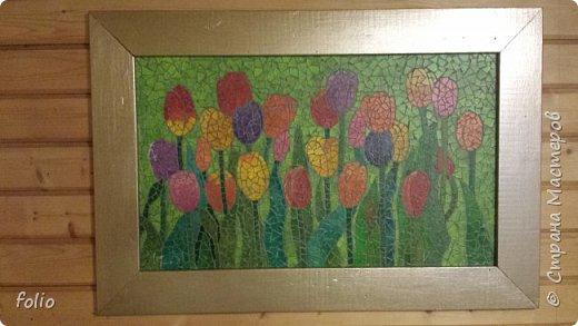 Всем привет! Понравилось мне работать с мозаикой из  линолеума. Наинуднейшая но очень увлекательная работа!! ))) МК уже был. Если заинтересует, заходите по адресу http://stranamasterov.ru/node/1103243 Но кое чем поделюсь и в этот раз фото 13