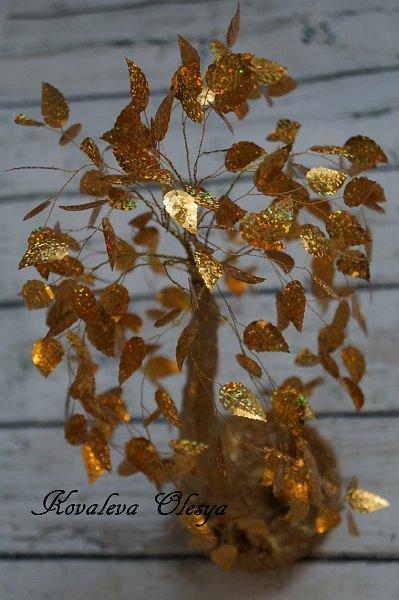 Золотое деревце фото 3