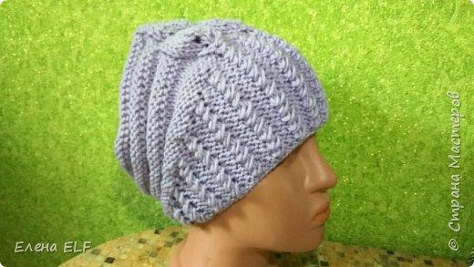 Женская весеняя шапочка фото 1