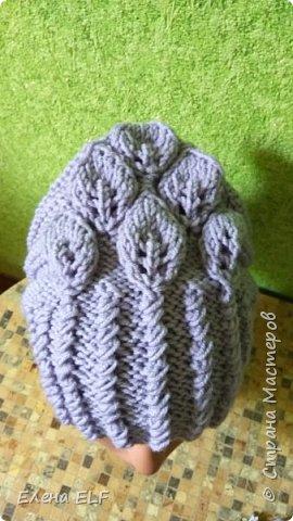 Женская весеняя шапочка фото 3
