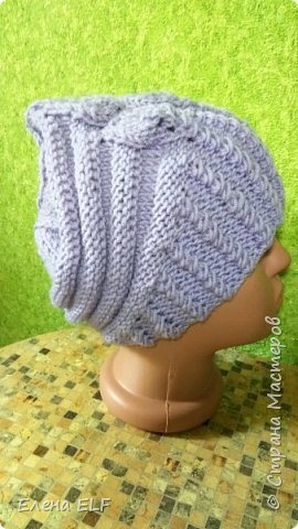 Женская весеняя шапочка фото 2