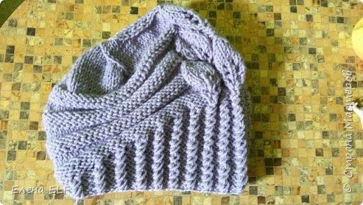 Женская весеняя шапочка фото 5