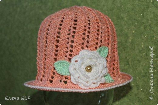 Летняя шляпка фото 1