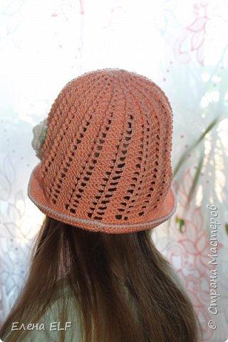 Летняя шляпка фото 3
