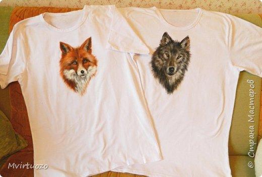 День добрый! Продемонстрирую свои новые футболочки - целый комплект 4 штуки. Уже уехали аж в Красноярск! фото 6