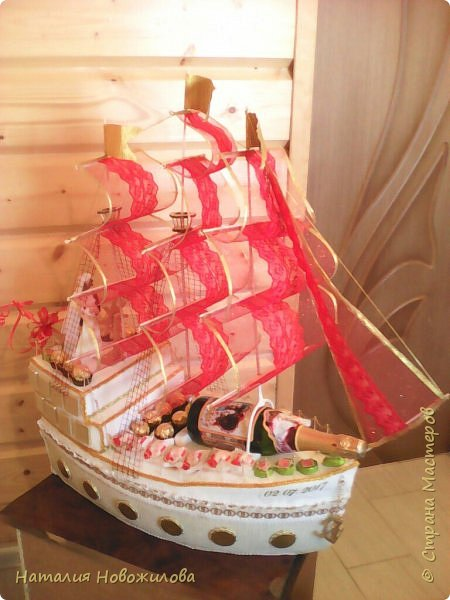 Свадебный корабль фото 3