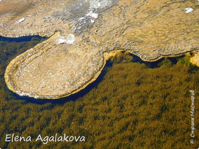 Хочу поделится впечатлениями от поездки в Йе́ллоустон (Yellowstone National Park)— международный биосферный заповедник, объект Всемирного Наследия ЮНЕСКО, первый в мире национальный парк (основан 1 марта 1872 года).  Находится в США, на территории штатов Вайоминг, Монтана и Айдахо.  Парк знаменит многочисленными гейзерами и другими геотермическими объектами, богатой живой природой, живописными ландшафтами.  ( взято из Википедии ) Мы останавливались в кемпингах в палатках. Парк произвел на нас огромное впечатление. Очень хочется поделится с вами красотой которую я увидела.  фото 9