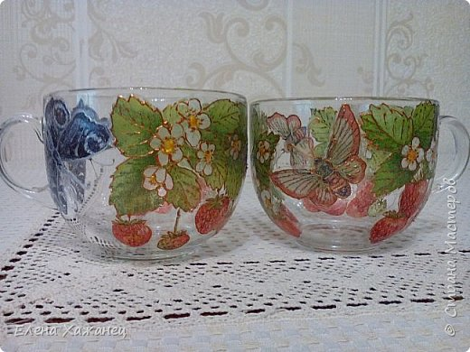 Чашки-двойняшки фото 2