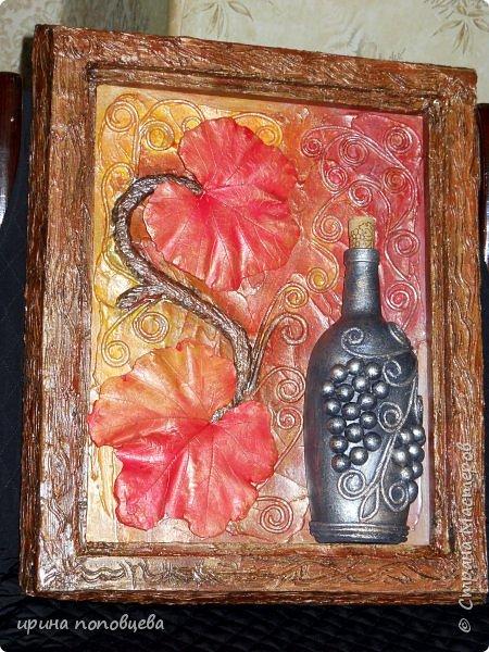 """Дача...Любимое место горожанина!А что этому горожанину делать,когда все грядки политы,сорняки прополоты,шашлыки съедены?ТВОРИТЬ!!!! Например,можно заняться """"наскальной живописью"""", используя подручные материалы (рамы от старых форточек,гипсовые отливки с красивых листиков), свить гнездо,сделать вазу из тубы от использованного линолеума,соорудить гламурненький сундучок из старого ящика для инструментов-да мало ли...Мой творческий дачный отчет)) фото 4"""