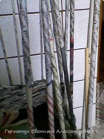 Поднос из газетных трубочек -первый опыт.  Нашла в Интернете на сайте https://www.youtube.com/watch?v=CtcxFU2hoMA     даны очень хорошие методические рекомендации фото 13