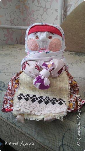 Народные куколки из натуральных материалов, сотворённые с любовью) фото 14