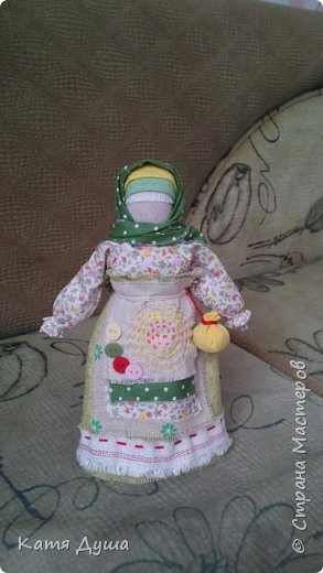 Народные куколки из натуральных материалов, сотворённые с любовью) фото 15