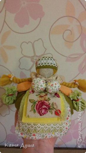 Народные куколки из натуральных материалов, сотворённые с любовью) фото 17