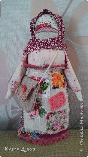Народные куколки из натуральных материалов, сотворённые с любовью) фото 18