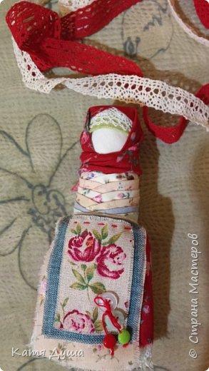 Народные куколки из натуральных материалов, сотворённые с любовью) фото 19